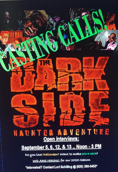 The Dark Side 2020 Casting Call flyer