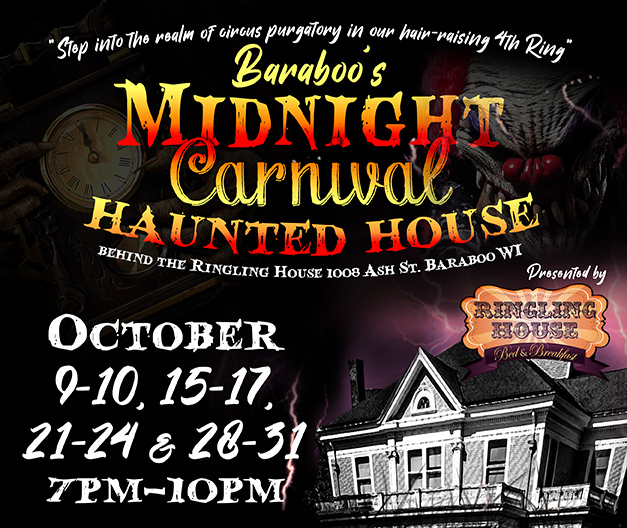 Midnight Carnival Haunted House