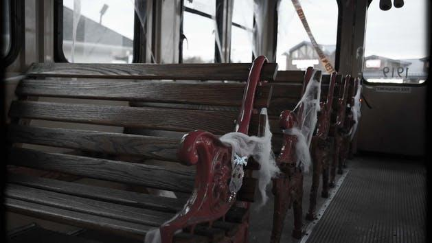 Webbed trolley