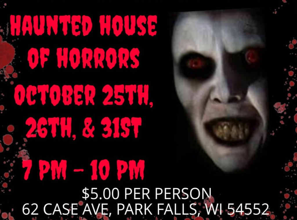 Park Falls Chamber of Commerce Haunted House