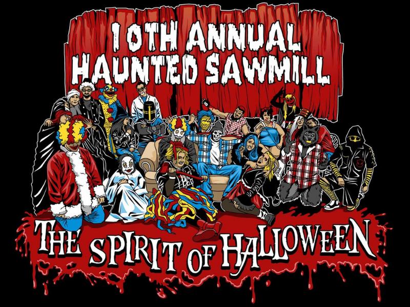 Haunted Sawmill