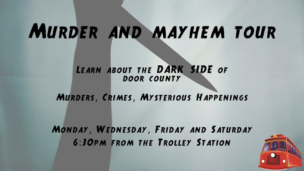 Murder & Mayhem Tour 2021