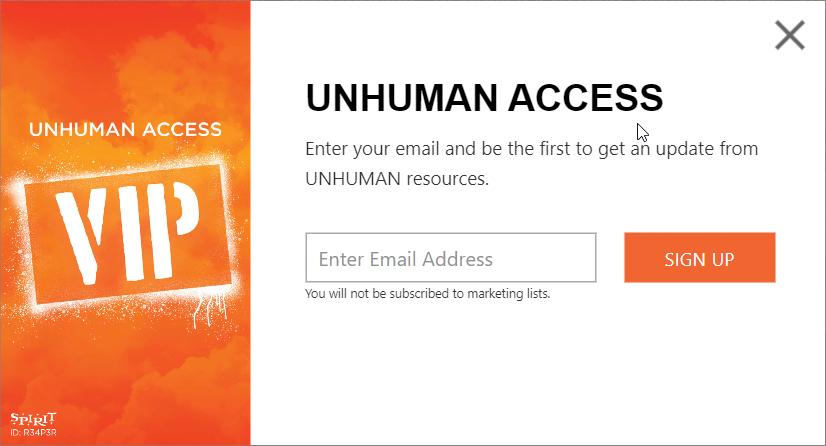 Unhuman Access